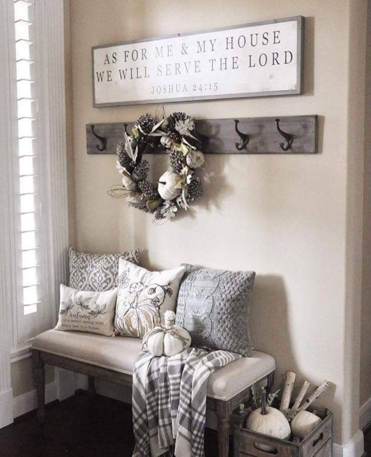 Detalles para decorar la entrada de tu casa 1 - Decorar una entrada ...
