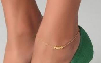 Hermosas ideas de pulseras para pies