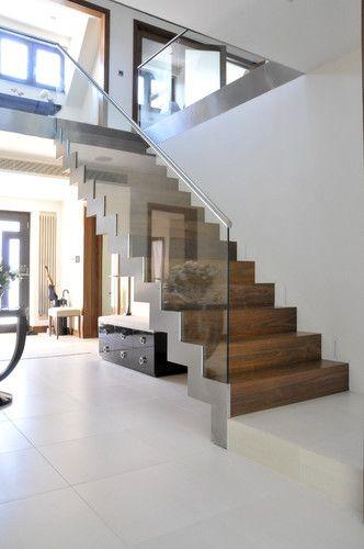 Ideas de dise os de escaleras para interiores modernos 11 for Escaleras decorativas de interior