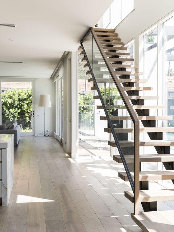 Ideas de dise os de escaleras para interiores modernos 14 - Ideas para escaleras de interior ...