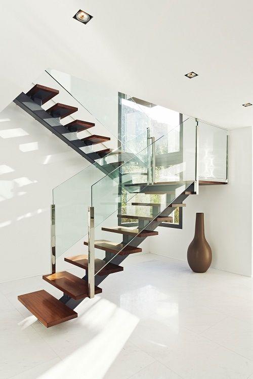 ideas de diseos de escaleras para interiores modernos 19 - Escaleras Modernas