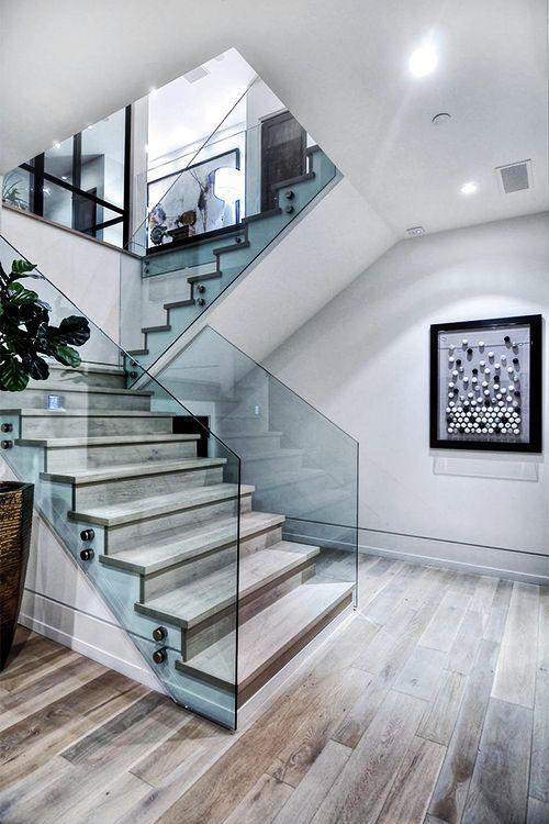 Ideas de dise os de escaleras para interiores modernos 5 - Ideas para escaleras de interior ...
