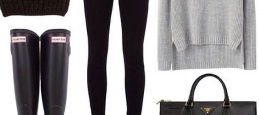Ideas de outfits con botas de lluvia