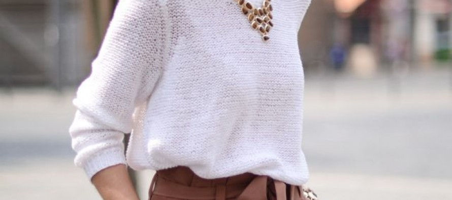 Ideas de outfits para combinar prendas blancas