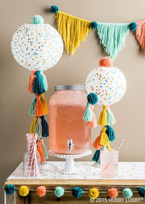 Ideas para decorar fiestas en verano 21 decoracion de for Manualidades decoracion infantil