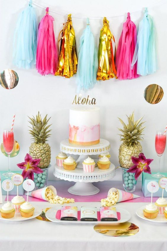 Ideas para decorar fiestas en verano 23 como organizar - Ideas para decorar fiestas ...