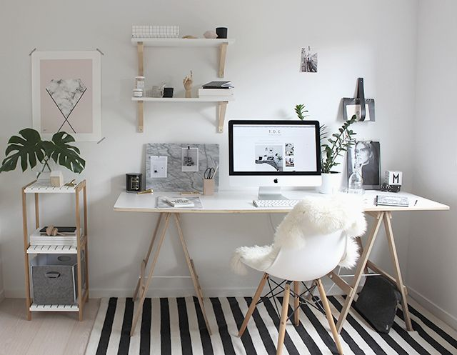 Ideas para decorar oficinas lindas y modernas | Decoracion de ...