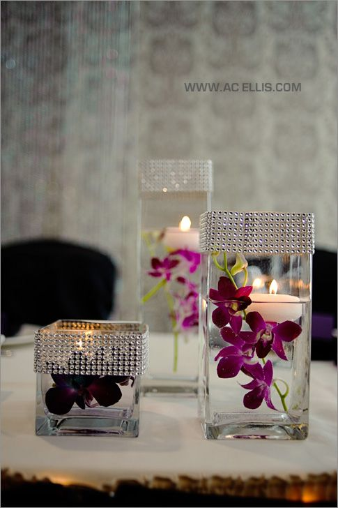 Ideas para decorar tu casa con velas 40 decoracion de for Decorar jarrones con velas