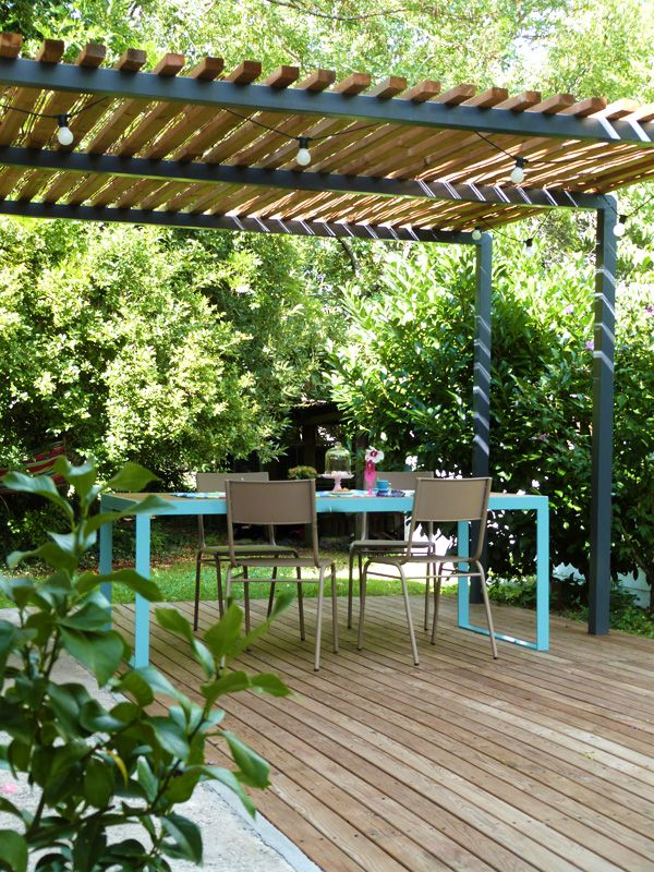 las mejores ideas para ambientar y decorar un jardin terraza 6 como organizar la casa. Black Bedroom Furniture Sets. Home Design Ideas