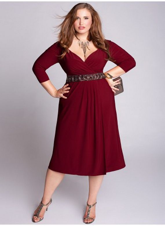 Outfits Con Vestidos Formales Para Chicas Plus Size 37