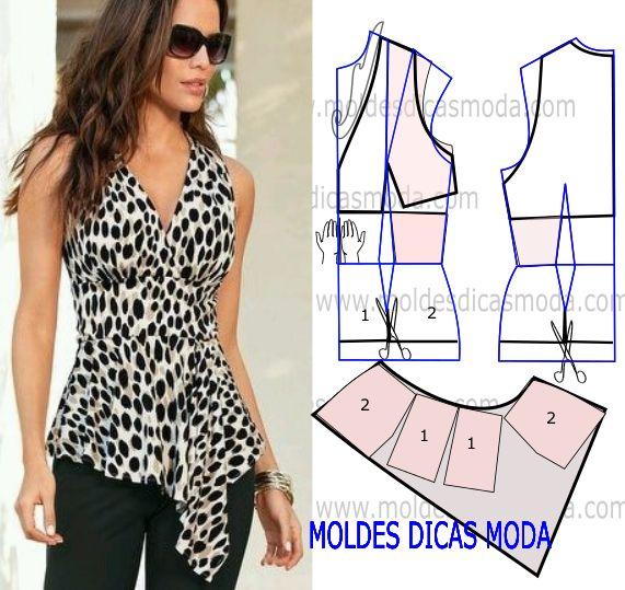 Blusas Con Patrones   www.picswe.com