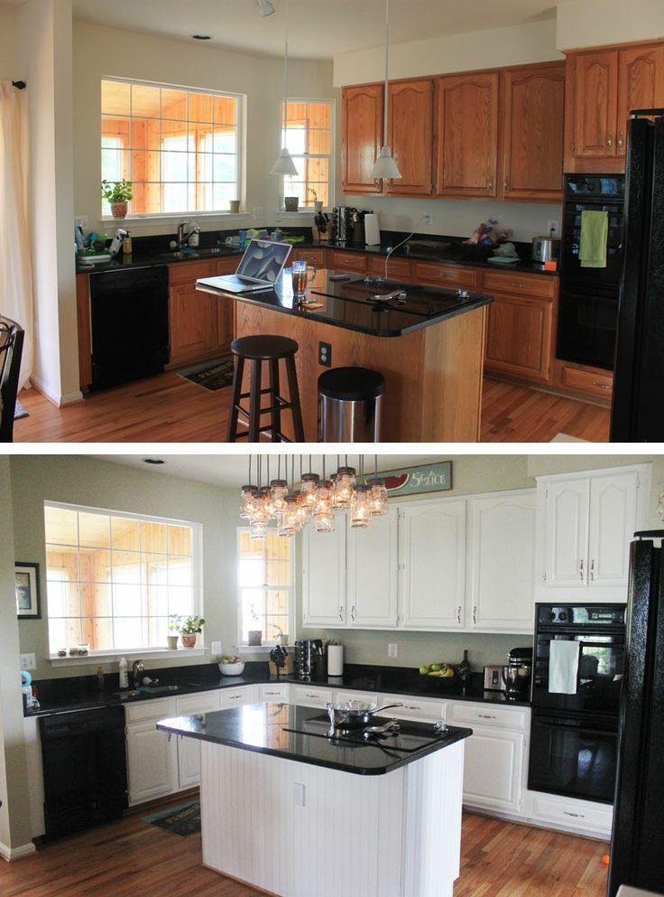 Remodelacion de cocinas antes y despues 1 decoracion for Remodelacion de cocinas pequenas
