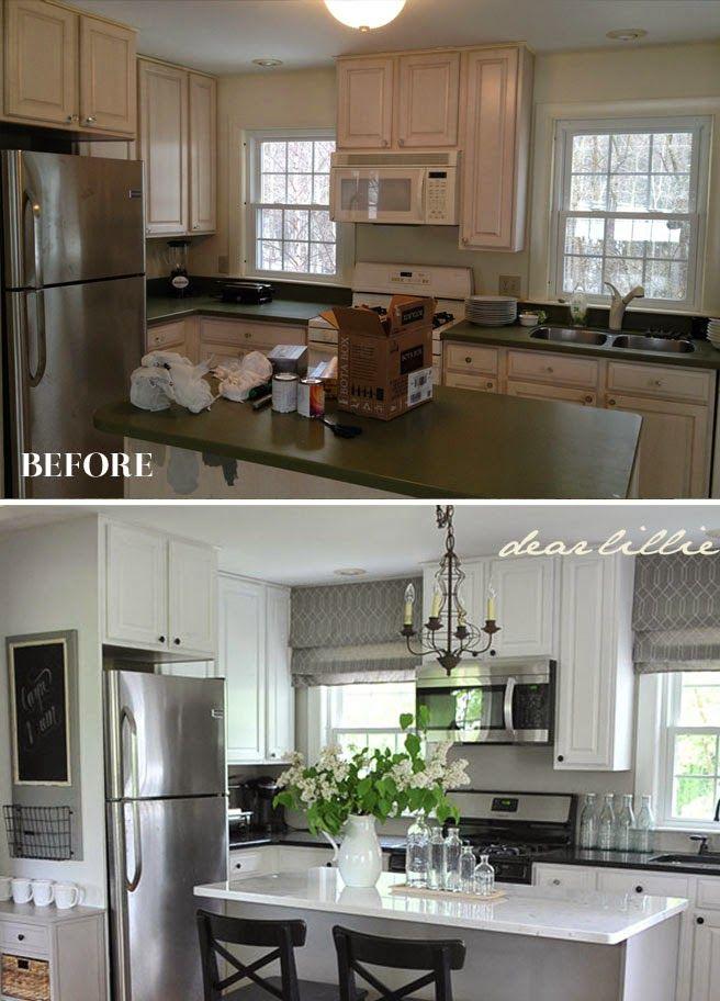 Remodelacion de cocinas antes y despues 18 como for Remodelacion de casas pequenas