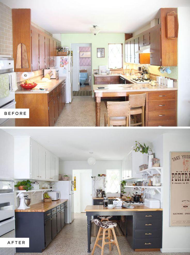 Remodelacion de cocinas antes y despues for Remodelacion de cocinas pequenas