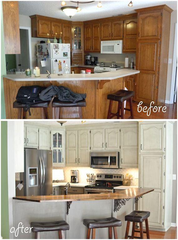 Remodelacion de cocinas antes y despues 2 for Remodelacion de cocinas
