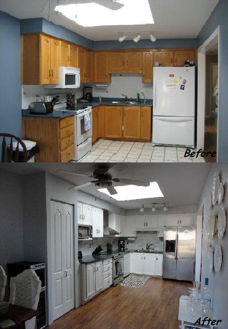 Remodelacion de cocinas antes y despues 22 for Remodelacion de cocinas pequenas