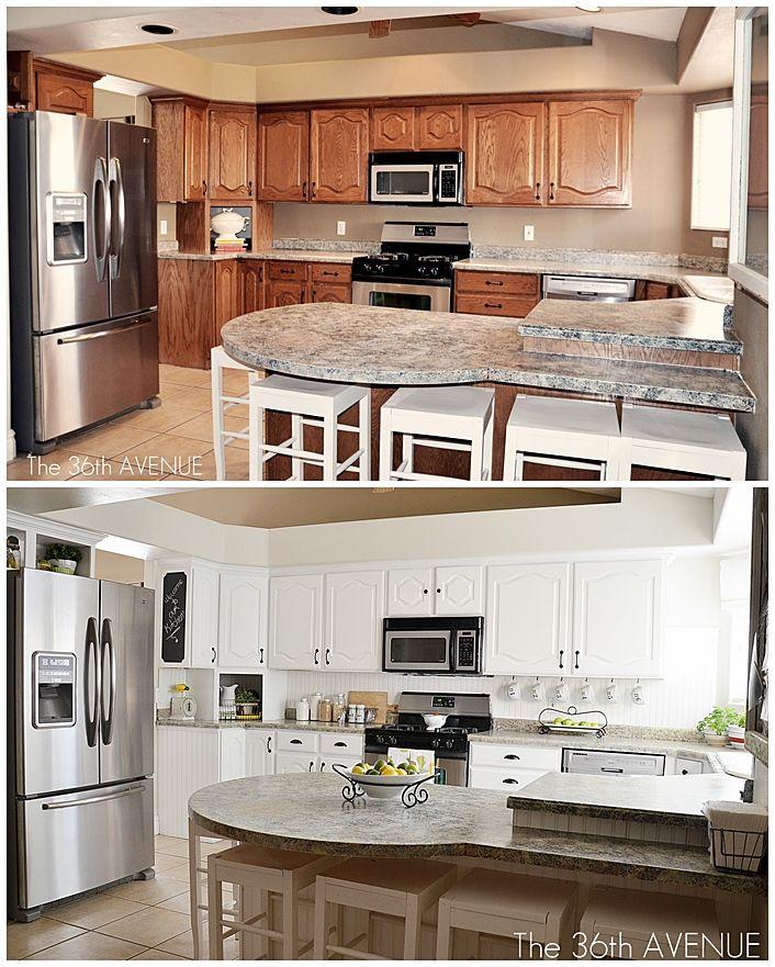 Remodelacion de cocinas antes y despues 24 for Remodelacion de cocinas pequenas