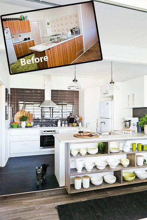 Remodelacion de cocinas antes y despues 25 for Remodelacion de cocinas pequenas