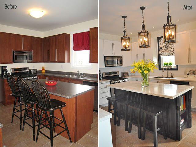 Remodelacion de cocinas antes y despues 4 for Remodelacion de cocinas