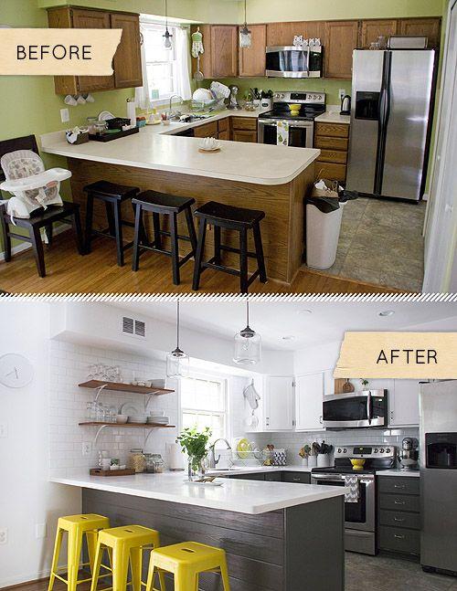 Remodelacion de cocinas antes y despues 40 for Remodelacion de cocinas pequenas
