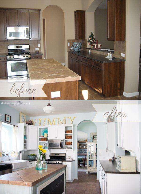 Remodelacion de cocinas antes y despues 48 for Remodelacion de casas pequenas
