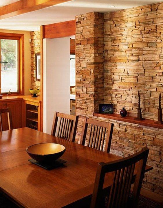comedores con paredes de piedra (3)
