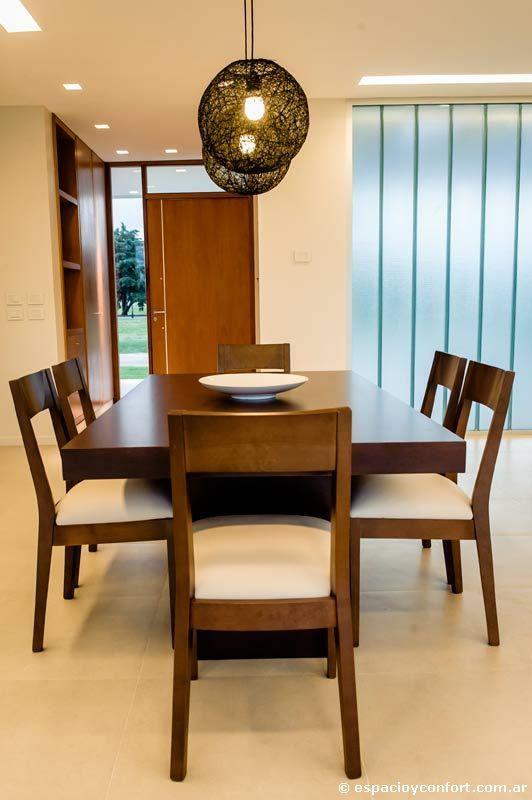 Como decorar comedores modernos for Comedores minimalistas de madera