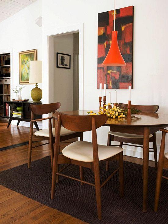 Comedores en naranja 3 decoracion de interiores for Fachadas de comedores