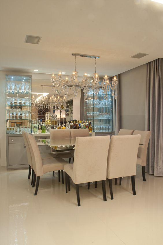 comedores modernos blancos 1 decoracion de interiores