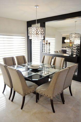 comedores modernos blancos decoracion de interiores