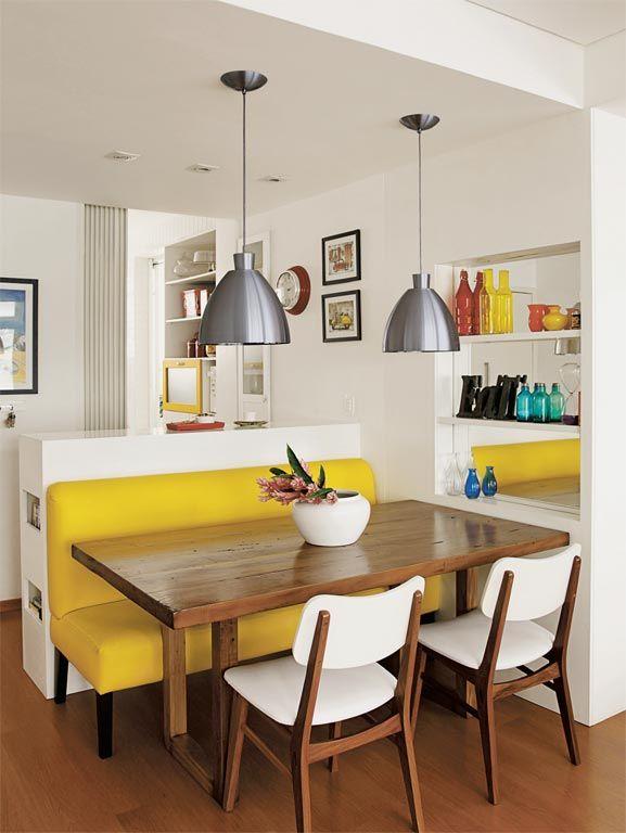 Decoracion comedores color amarillo
