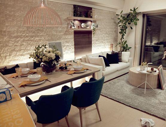 decoracion de comedores con plantas y muros verdes (4)
