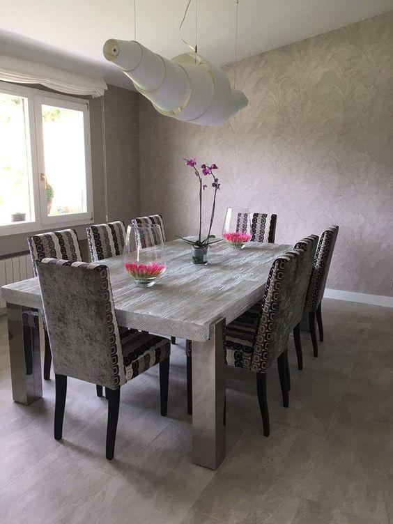Decoraciones de paredes para comedores modernos 2018 3 for Interiores de comedores