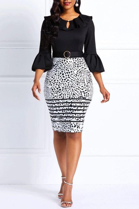 Vestidos estilo lapiz – ¡super sensuales y femeninos!