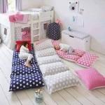 idea DIY para hacer una camita para el piso para tus hijos (5)