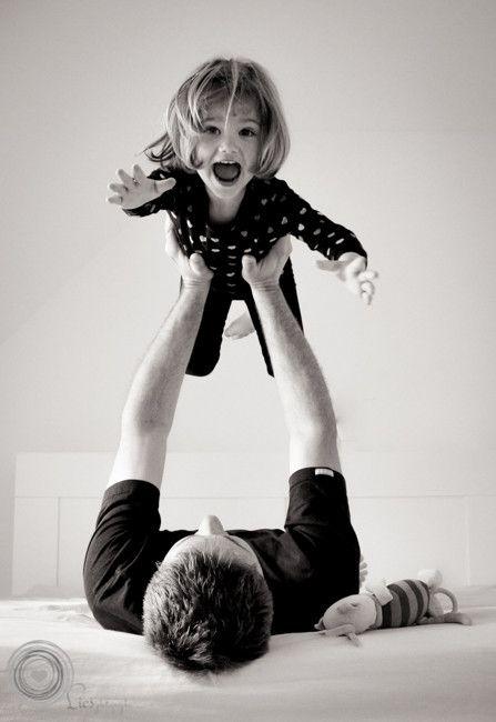 ideas sesion de fotos blanco y negro papa e hija