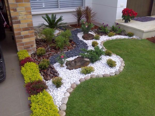 Ideas para decorar el jardin ideas con ladrillos para el for Ideas para tu jardin paisajismo