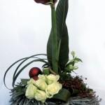 centros de mesa naturales navideños fácil de hacer