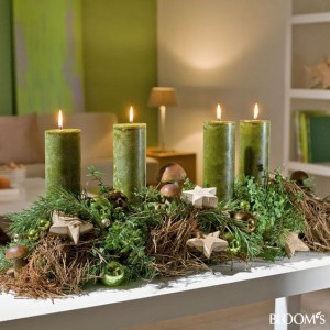 31 centros de mesa naturales navidenos facil de hacer