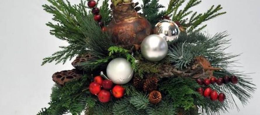31 centros de mesa naturales navide os f cil de hacer curso de organizacion de hogar aprenda a - Centros navidad caseros ...