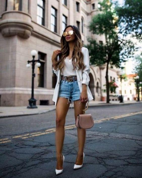 Outfits con shorts hermosos y súper cómodos