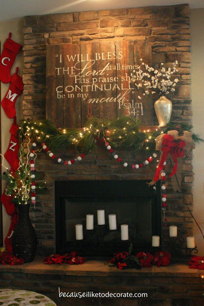 Como decorar tu casa esta navidad 2016 2017 31 for Decoracion casa navidad 2016