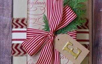 Como envolver los regalos esta navidad