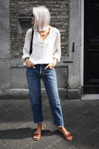Como llevar jeans y lucir con estilo si tengo 40 años