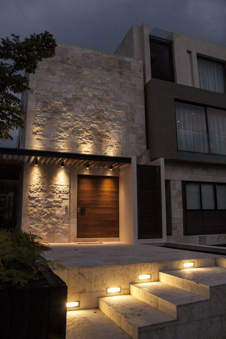 Detalles en la decoracion de casas modernas 15 for Decoracion muros exteriores