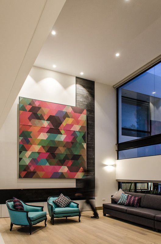 Detalles en la decoraci n de casas modernas for Decoracion casa clasica moderna