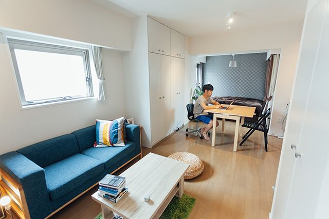 Distribucion de muebles en salas de estar pequenas 18 for Muebles de sala para casas pequenas