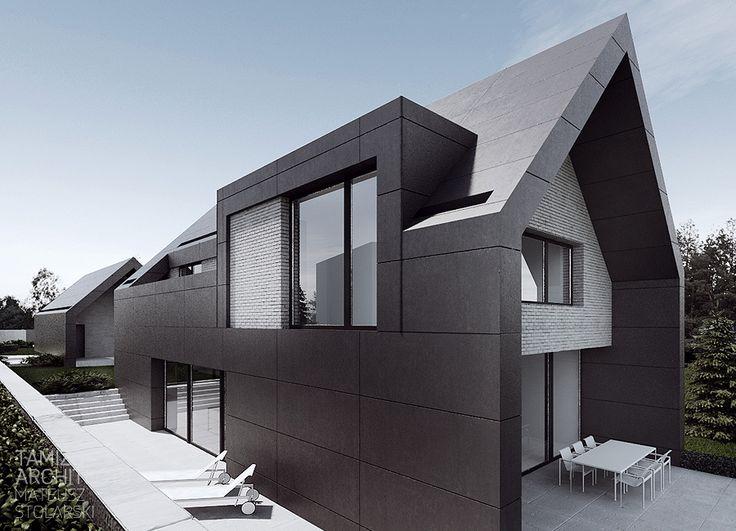 Fachadas de casas estilo contemporaneo 15 decoracion de for Fachadas de casas estilo contemporaneo
