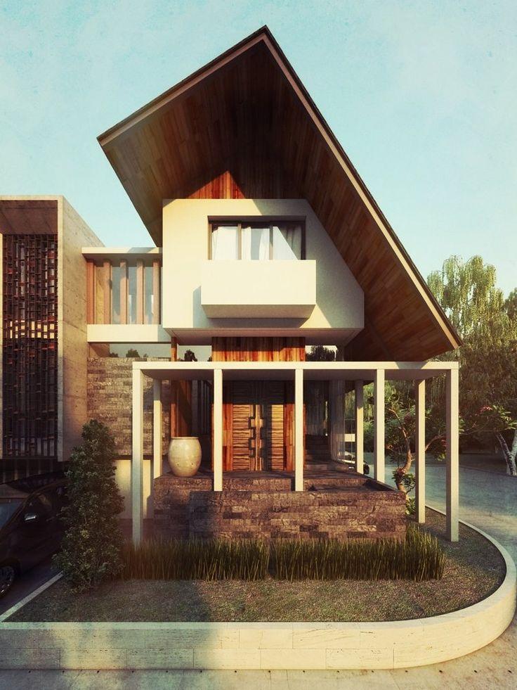 Fachadas de casas estilo contemporaneo 23 decoracion de for Fachadas de casas estilo contemporaneo