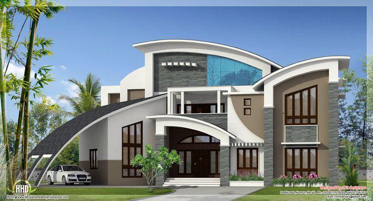 Fachadas de casas estilo contemporaneo 26 como organizar for Casas decoradas estilo contemporaneo